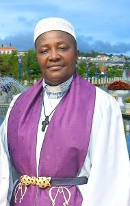Rev Clarissa Robertson President Clergywomen of Liberia