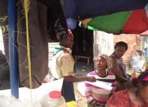 Liberian Scouts create awareness