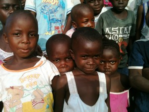 Some of the Orphans in Gorlu, Lofa County