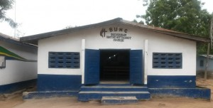 Buduburam United Methodist Church at the Liberian Refugees Camp in Ghana