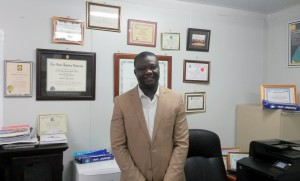 Tobert T. Nyenswah, Deputy Minister for Public Health, MoH Liberia..